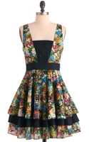 ModCloth Best Palettes Dress - Lyst