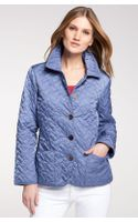 Cole Haan Short Quilted Jacket - Lyst