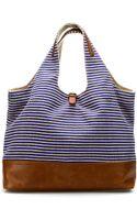 Zara Linen Shopper - Lyst