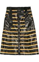 Proenza Schouler Striped Eel Skirt - Lyst