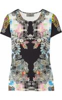 Preen By Thorton Bregazzi Scuba Printed Jersey T- shirt - Lyst