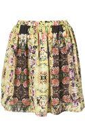 Topshop Premium Intricate Bug Skirt - Lyst