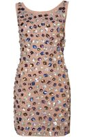 Topshop Jewel Bodycon Dress By Dress Up - Lyst