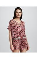 Marc By Marc Jacobs Toucan Do It Sheer Cover-up - Lyst