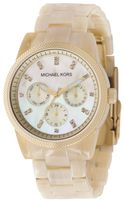 Michael Kors Chronograph Resin Horn Bracelet 36mm - Lyst