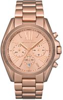 Michael Kors Chronograph Rose Gold Tone Stainless Steel Bracelet 43mm - Lyst
