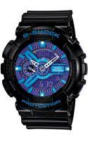 G-shock Mens Analog Digital Black Resin Strap Watch - Lyst