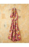Free People Vintage Floral Printed Halter Dress - Lyst