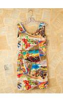 Free People Vintage Travel Printed Mini Dress - Lyst