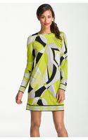 MICHAEL Michael Kors Print Shift Dress - Lyst