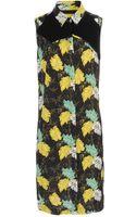 Proenza Schouler Exclusive Fauna Printed Crepe Dress - Lyst