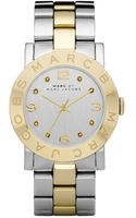 Marc By Marc Jacobs Womens Amy Two Tone Stainless Steel Bracelet 36mm - Lyst