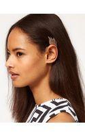 Asos Asos Winged Ear Cuff - Lyst