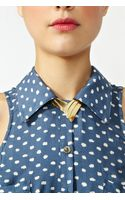 Nasty Gal On Point Collar Necklace - Lyst