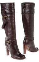 Dolce & Gabbana Highheeled Boots - Lyst