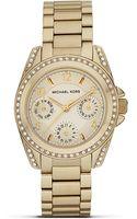 Michael Kors Michael Mini Blair Glitz Watch 33mm - Lyst