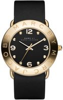 Marc By Marc Jacobs Womens Black Leather Strap - Lyst