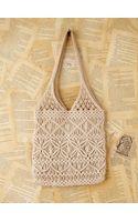 Free People Vintage Macrame Handbag - Lyst