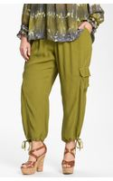 Xcvi Wearables Sequoia Crop Cargo Pants - Lyst