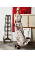 Doo. Ri Sleeveless Scoop Neck Pleated A Line Belted Maxi - Lyst