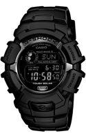 G-shock Mens Digital Black Resin Strap Watch  - Lyst