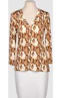 Just Cavalli Long Sleeve T - Lyst