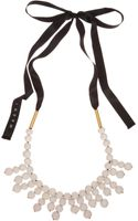 Marni  Layered Bead Necklace - Lyst