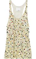 3.1 Phillip Lim Sequined Silk Tank - Lyst