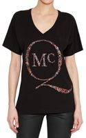 McQ by Alexander McQueen McQ Printed Jersey T-shirt - Lyst
