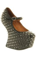 Jeffrey Campbell Prickly Black Leather - Lyst