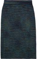 M Missoni Wool-blend Pencil Skirt - Lyst