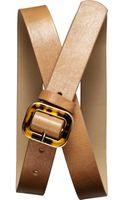 Banana Republic Square Tortoise Buckle Belt - Lyst
