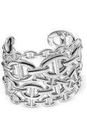 Hermes Silver  Bracelet - Lyst