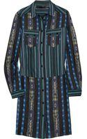 Proenza Schouler Printed Cottontwill Shirt Dress - Lyst