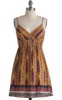 ModCloth West Dressed Dress - Lyst