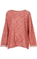 Topshop Boucle Sweat - Lyst
