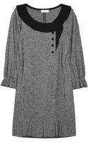 Sonia By Sonia Rykiel Houndstoothprint Cotton and Woolblend Dress - Lyst