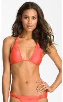 Vix Knot Detailed Triangle Bikini Top - Lyst