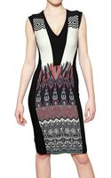 Etro Printed Viscose Cady Dress - Lyst