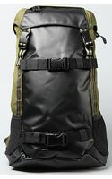 Nixon The Landlock Backpack in Army Stripe - Lyst