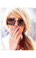 Jeremy Scott Tv Sunglasses - Lyst