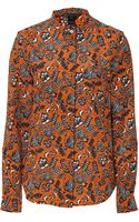 Marc By Marc Jacobs Multicolor Xenia Printed Top - Lyst