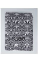 Balmain Zebra Print Cotton Terry Beach Towel - Lyst