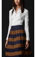 Burberry Prorsum Sparrow Graphic Fitted Shirt - Lyst