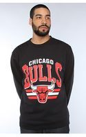 Mitchell & Ness The Chicago Bulls Sweatshirts in Black - Lyst