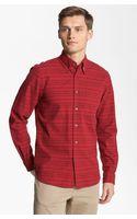 Steven Alan Collegiate Stripe Woven Shirt - Lyst