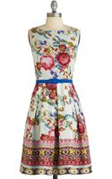 ModCloth Sew You How Its Done Dress - Lyst