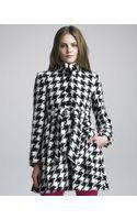 Alice + Olivia Emilia Houndstooth Jacket - Lyst