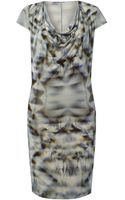Label Lab 3d Print Jersey Dress - Lyst