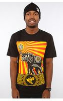 Obey The Peace Elephant Basic Tee - Lyst